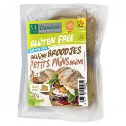 Bruine broodjes gluten vrij