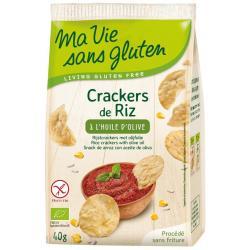 Rijstcrackers met olijfolie