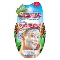 Gezichtsmasker spa aloe vera
