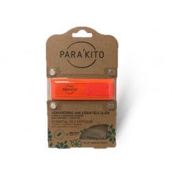 Armband oranje met 2 tabletten