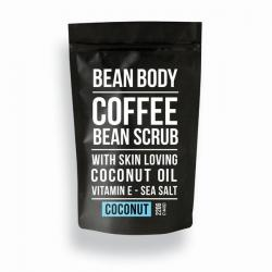 Coffee bean scrub coconut