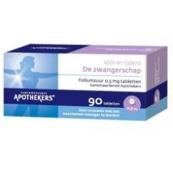 Foliumzuur tablet 0.5 mg