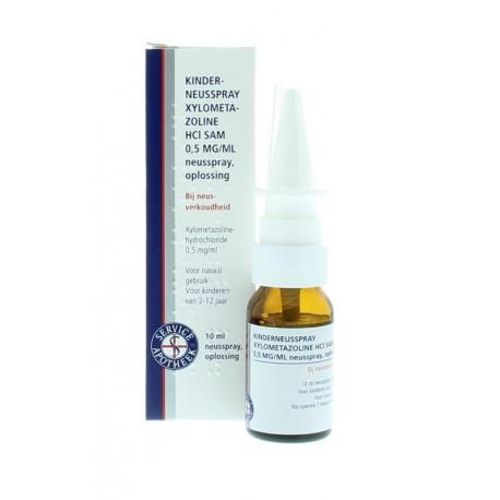 Xylometazoline neusspray 0.5 mg