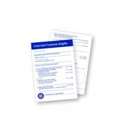Scheurblok checklist 2e uitgave