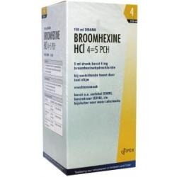 Broomhexine HCL 4 45 0.8 mg