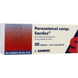 Paracetamol et coffeine