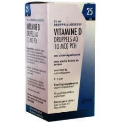 Vitamine D AQ druppels 10 mcg