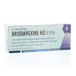Broomhexine HCL 8 mg