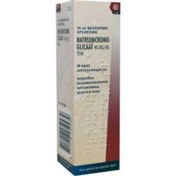 Cromoglicaat spray 40 mg