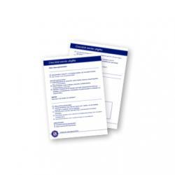 Scheurblok checklist 1e uitgave