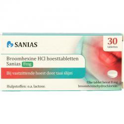 Broomhexine 8 mg