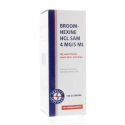 Broomhexine HCL 0.8