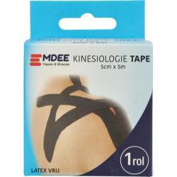 Kinesio tape zwart non cut