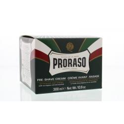 Preshave creme eucalyptus/menthol