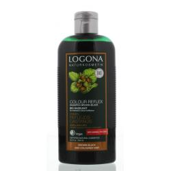 Kleurshampoo bruin zwart bio hazelnoot
