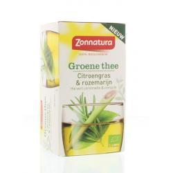 Groene thee & citroengras rozemarijn