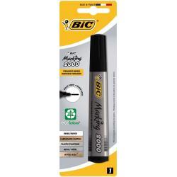 Permanent marker zwart blister