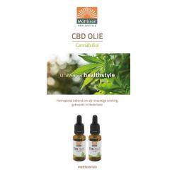 CBD Olie cannabidiol