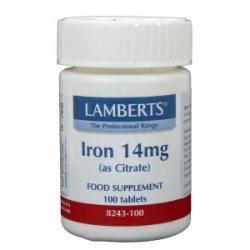 IJzer (iron) citraat 14 mg