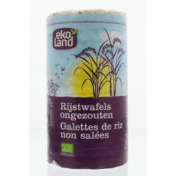 Rijstwafels zonder zout