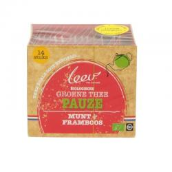 Bio groene thee pauze munt & framboos