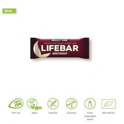 Lifebar energiereep rode biet raw & bio
