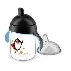 Tuitbeker pinguin 18 maand+ zwart