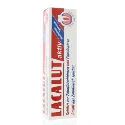 Tandpasta lacalut aktiv