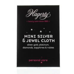 Silver jewel cloth mini