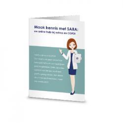 Flyer maak kennis met sara