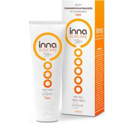 Suncare face tube SPF 50+