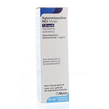 Xylometazoline 1 mg/ml spray