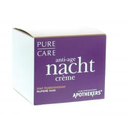 Pure care anti age nachtcreme rijpere huid