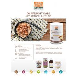 Receptkaart A5 overnight oats
