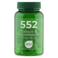 552 Calcium & Magnesium AC 150 mg / 100 mg