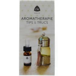 Brochure over aromatherapie