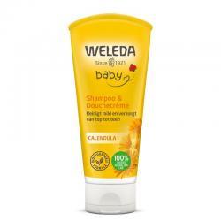 Calendula baby haar en body shampoo