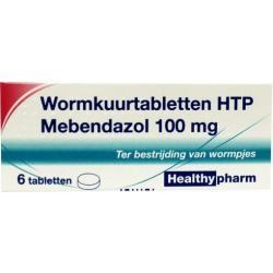Mebendazol/wormkuur