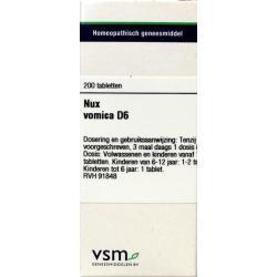 Nux vomica D6