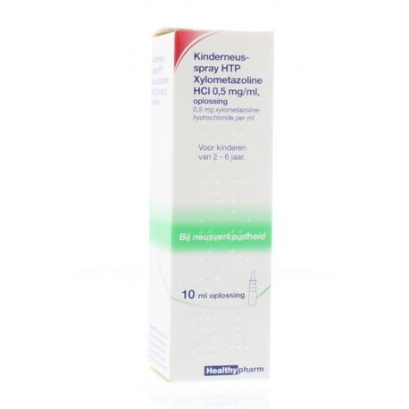 Kinder neusspray xylometazoline