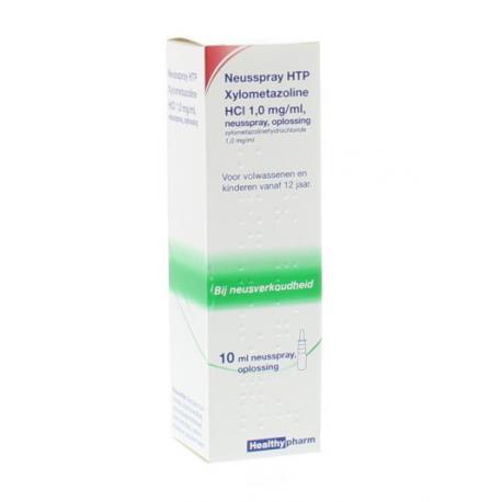 Neusspray xylometazol 1.0%