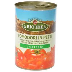 Tomatenstukjes in blik