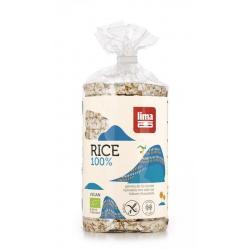 Rijstwafels met zout