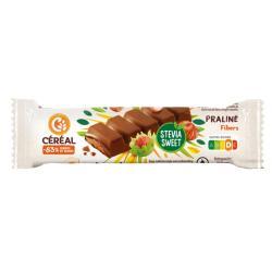 Chocolade reep praline stevia