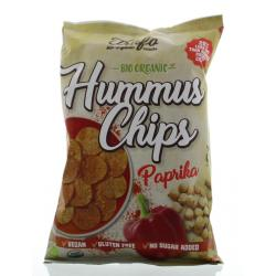 Hummus chips paprika